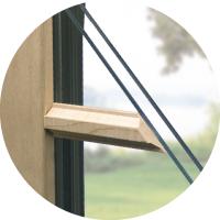 Interior wood grilles