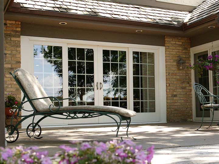 exterior - Sliding French Doors Patio