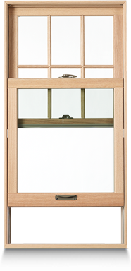 Renewal by andersen double hung windows for Double hung french patio doors