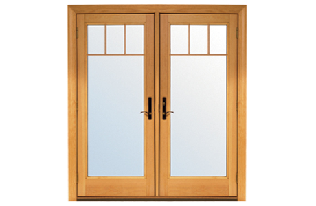 Renewal by Andersen Short Fractional Grille Pattern Patio Doors
