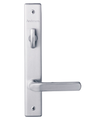 Anvers Hinged Patio Door Hardware - Satin Nickel