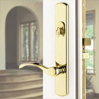 Hinged Patio Door Lock