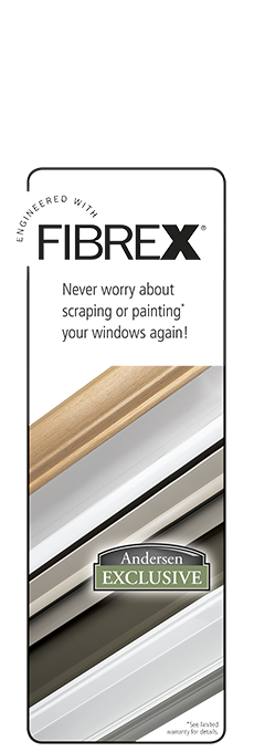 Fibrex Composite Window Material