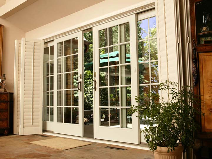 French Doors Exterior french patio doors, sliding french doors - renewalandersen