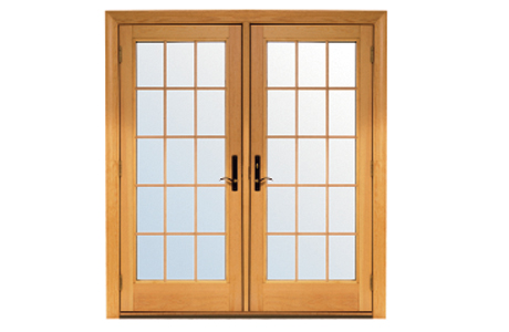 renewal by andersen colonial grille option patio doors - Wood Patio French Doors