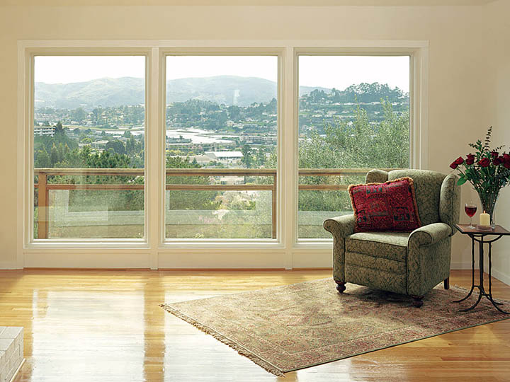 Have You Ever Considered Replacing A Patio Door With Large Picture Windows?