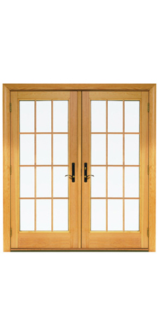 Hinged French Patio Doors