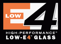 High-Performance Low-E4 window glass