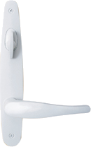 Tribeca Hinged Patio Door Hardware - White