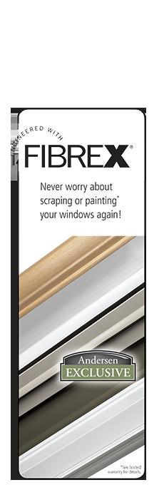 Fibrex Composite Window Material