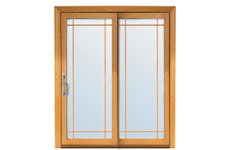 Renewal by Andersen Prairie Grille Patio Doors